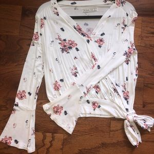 Abercrombie and Fitch Long Sleeved Blouse